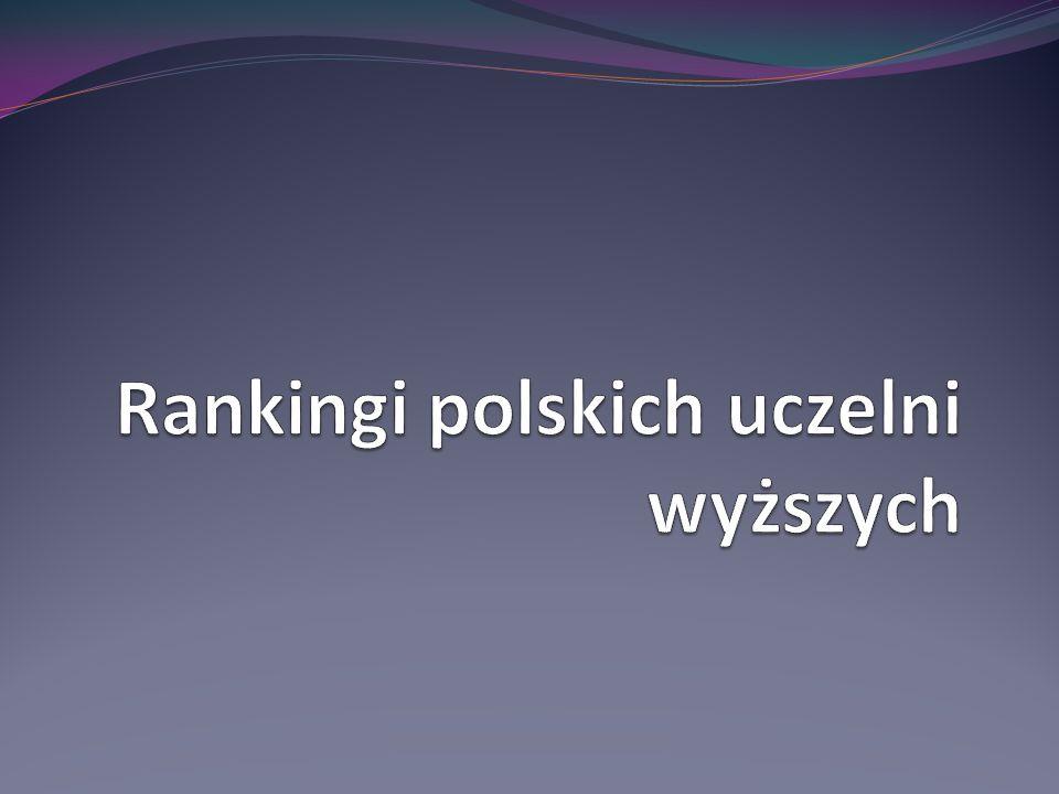 Rankingi polskich uczelni wyższych