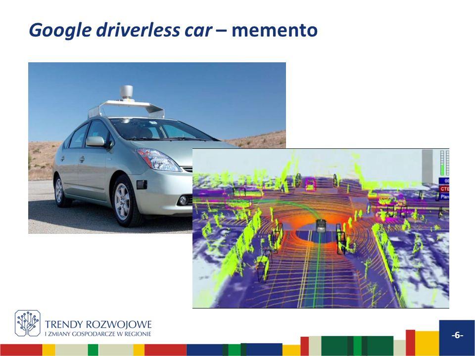 Google driverless car – memento