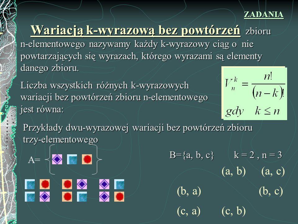 (a, b) (a, c) (b, a) (b, c) (c, a) (c, b)