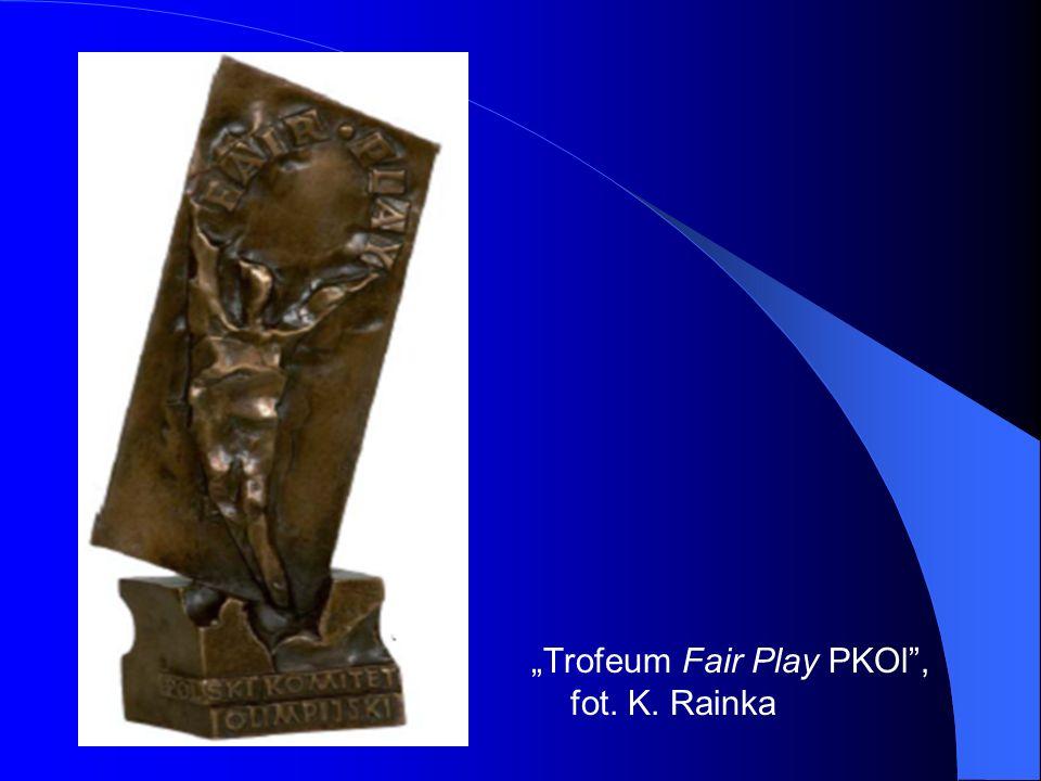 """""""Trofeum Fair Play PKOl , fot. K. Rainka"""