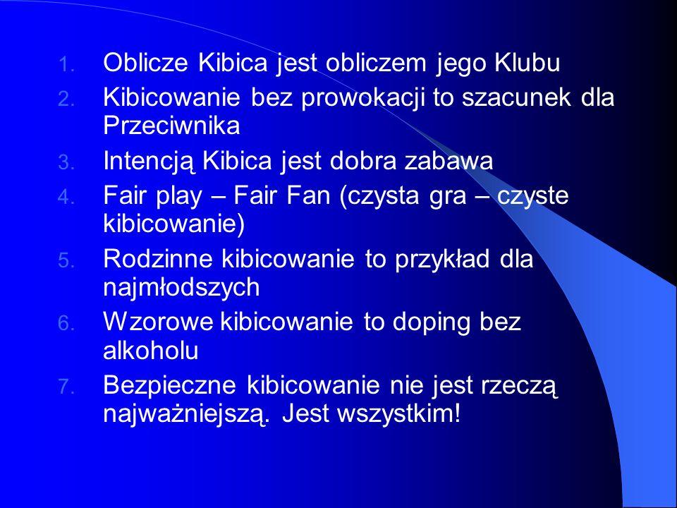 Oblicze Kibica jest obliczem jego Klubu