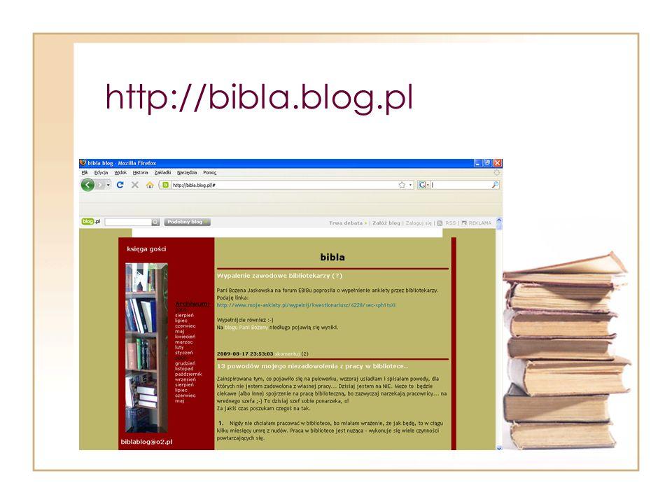 http://bibla.blog.pl
