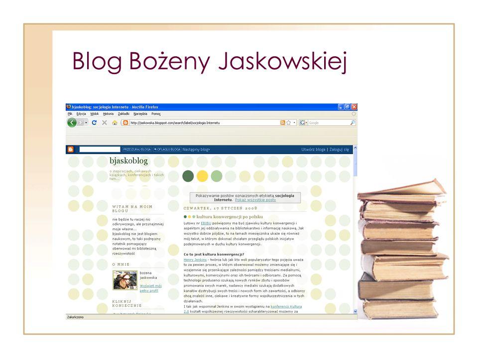 Blog Bożeny Jaskowskiej