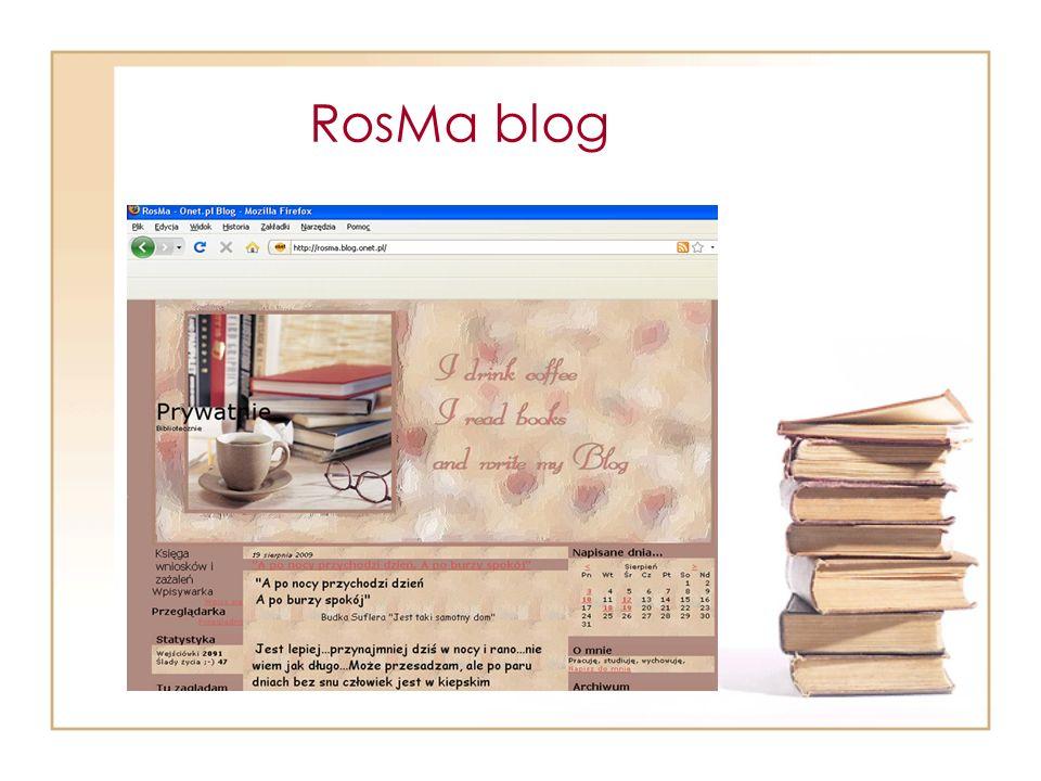 RosMa blog