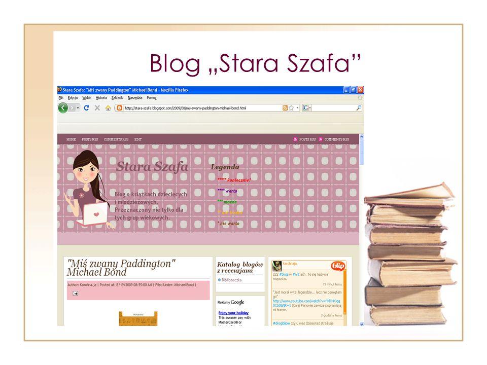 "Blog ""Stara Szafa"