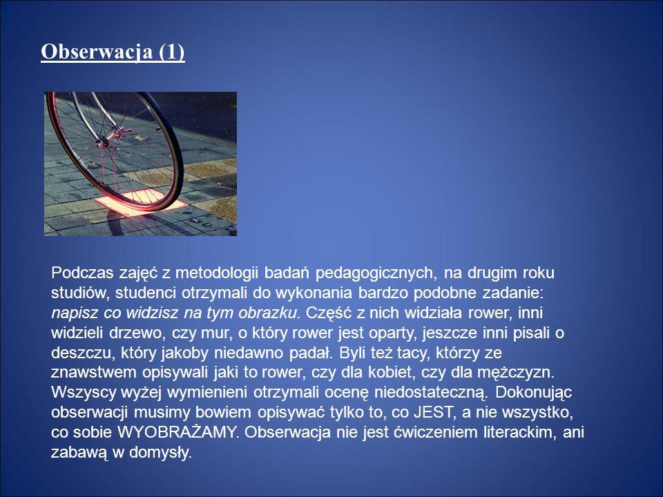 Obserwacja (1)