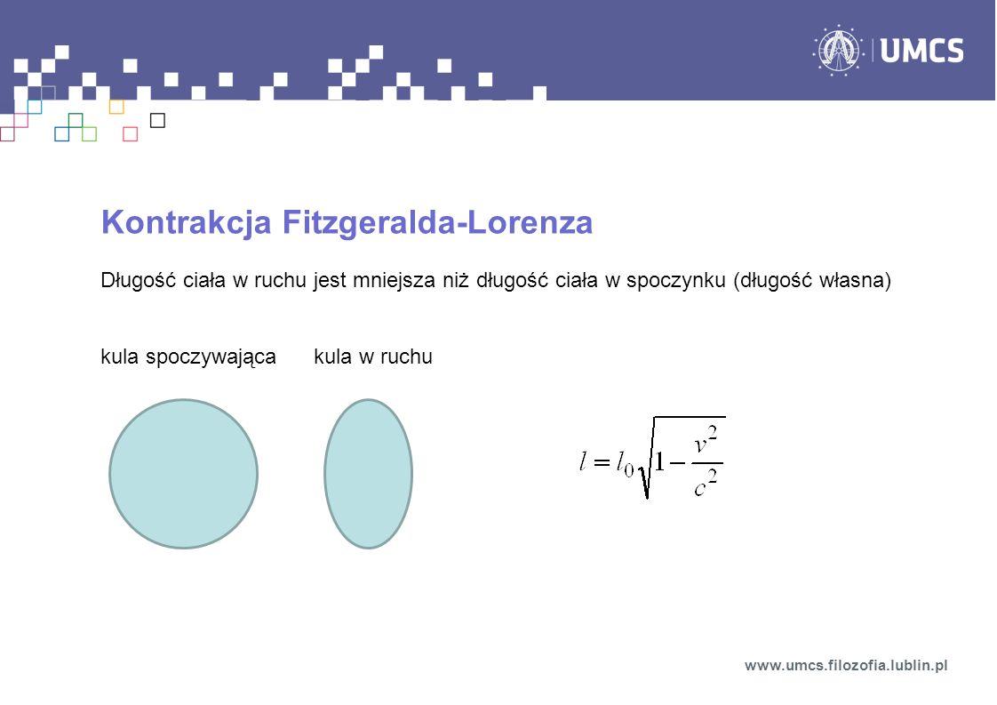 Kontrakcja Fitzgeralda-Lorenza
