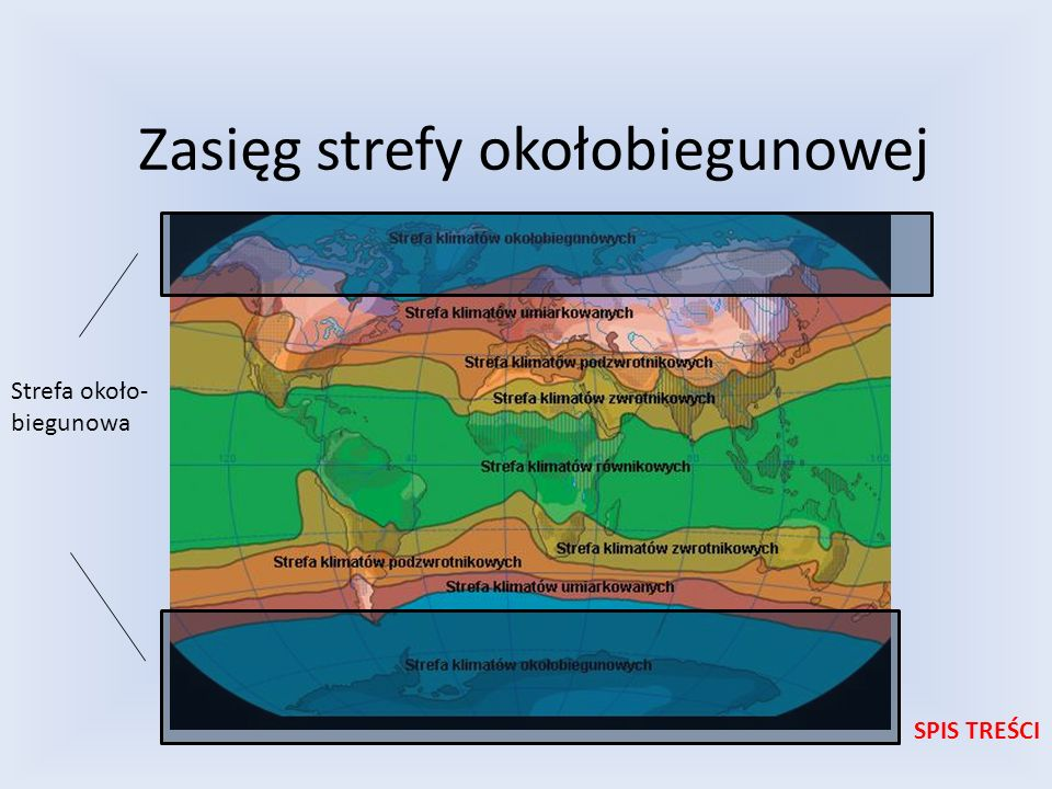 Zasięg strefy okołobiegunowej
