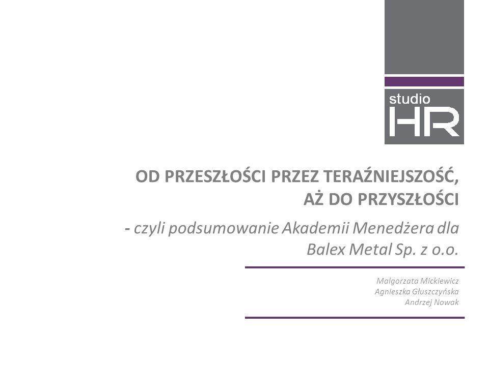 Malgorzata Mickiewicz Agnieszka Głuszczyńska Andrzej Nowak