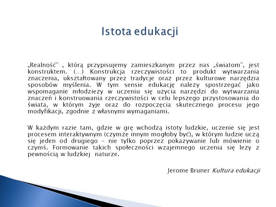 Istota edukacji