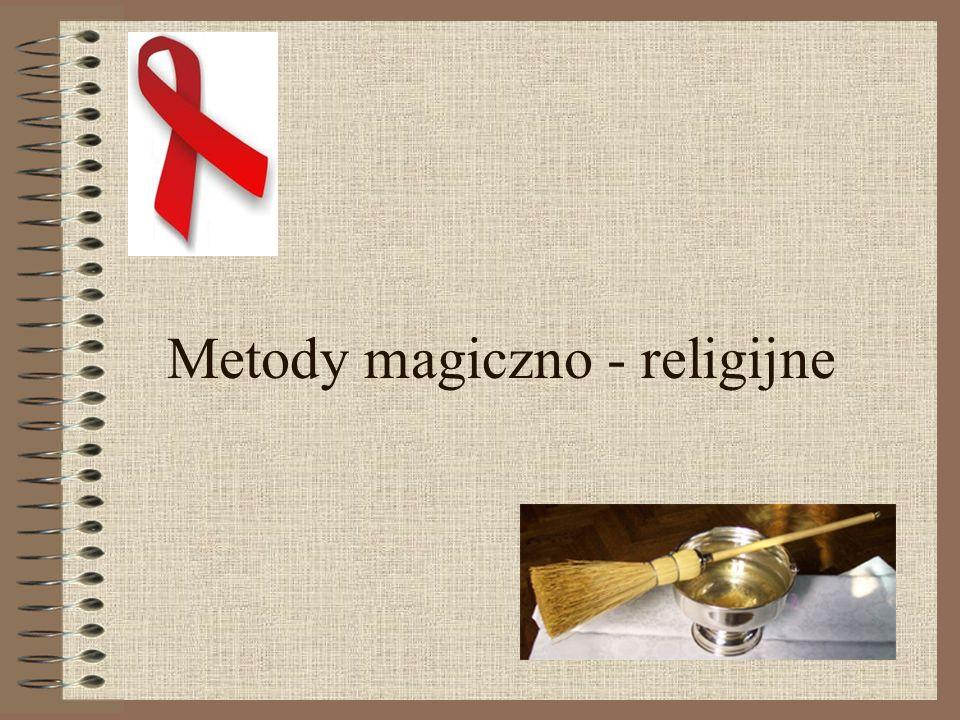 Metody magiczno - religijne