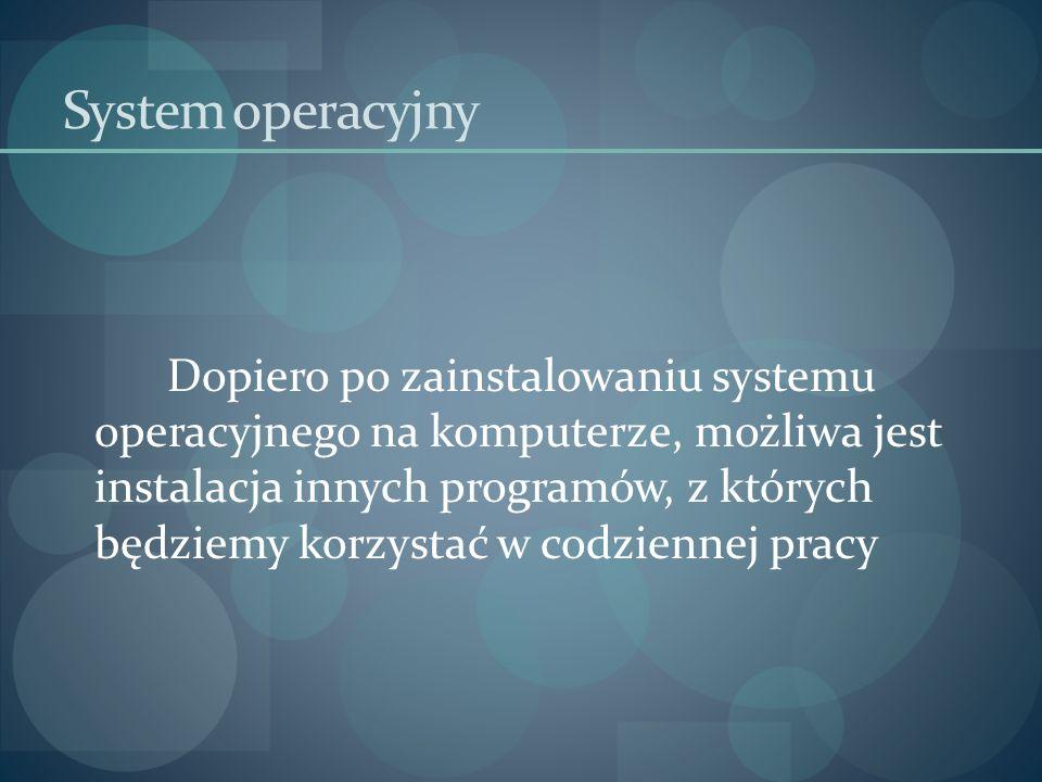 System operacyjny