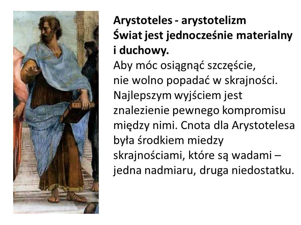 Arystoteles - arystotelizm