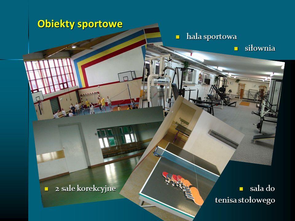 Obiekty sportowe hala sportowa siłownia 2 sale korekcyjne sala do