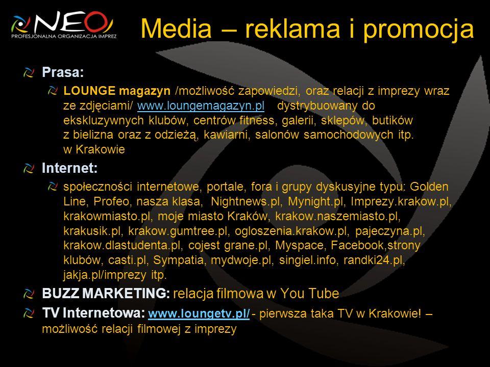Media – reklama i promocja
