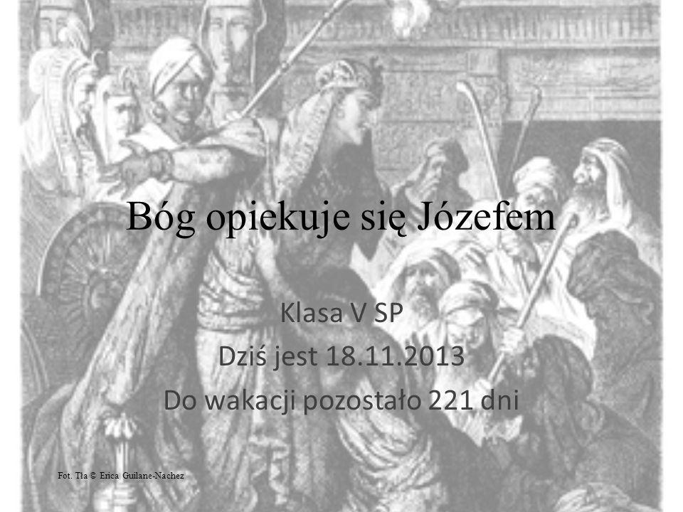 Bóg opiekuje się Józefem