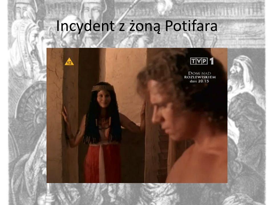 Incydent z żoną Potifara