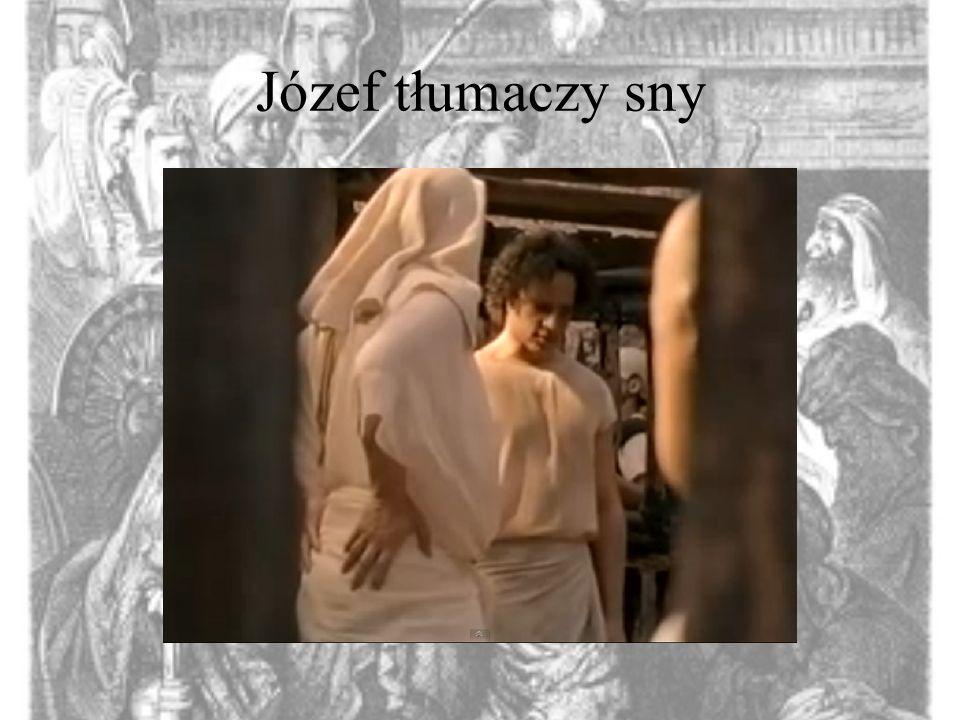 Józef tłumaczy sny