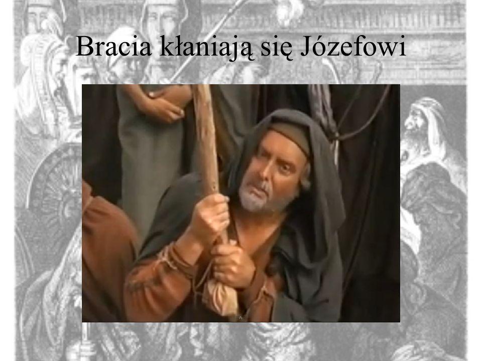 Bracia kłaniają się Józefowi