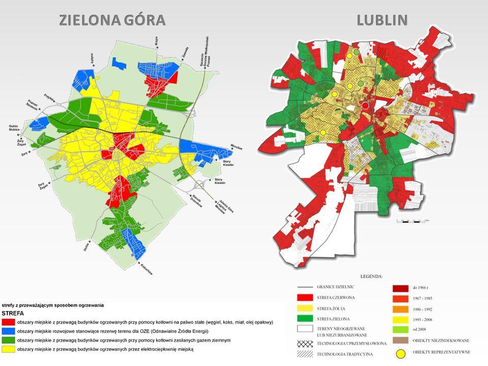 ZIELONA GÓRA LUBLIN