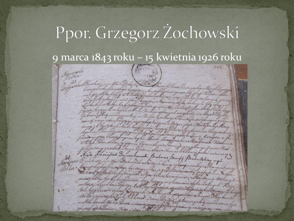 Ppor. Grzegorz Żochowski