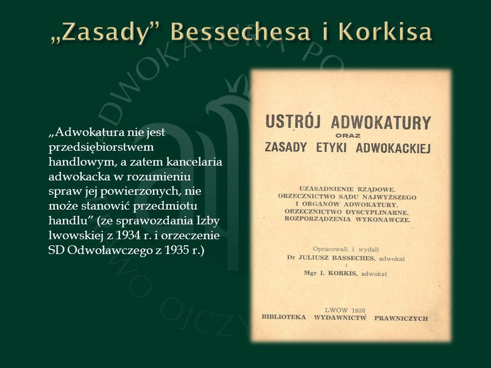 """Zasady Bessechesa i Korkisa"