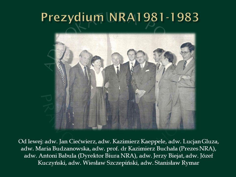 Prezydium NRA1981-1983