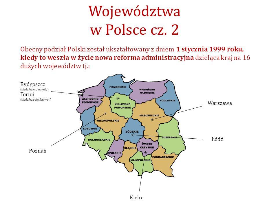Województwa w Polsce cz. 2