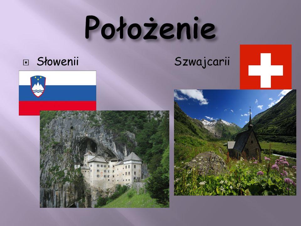 Położenie Słowenii Szwajcarii