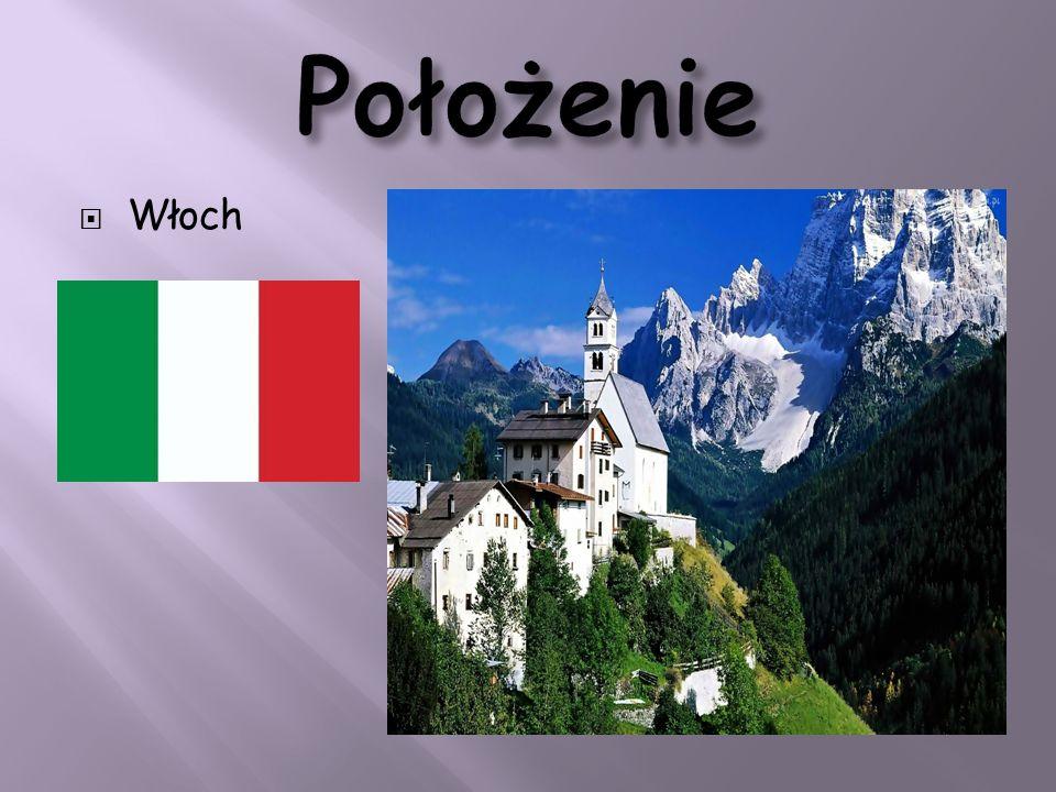 Położenie Włoch