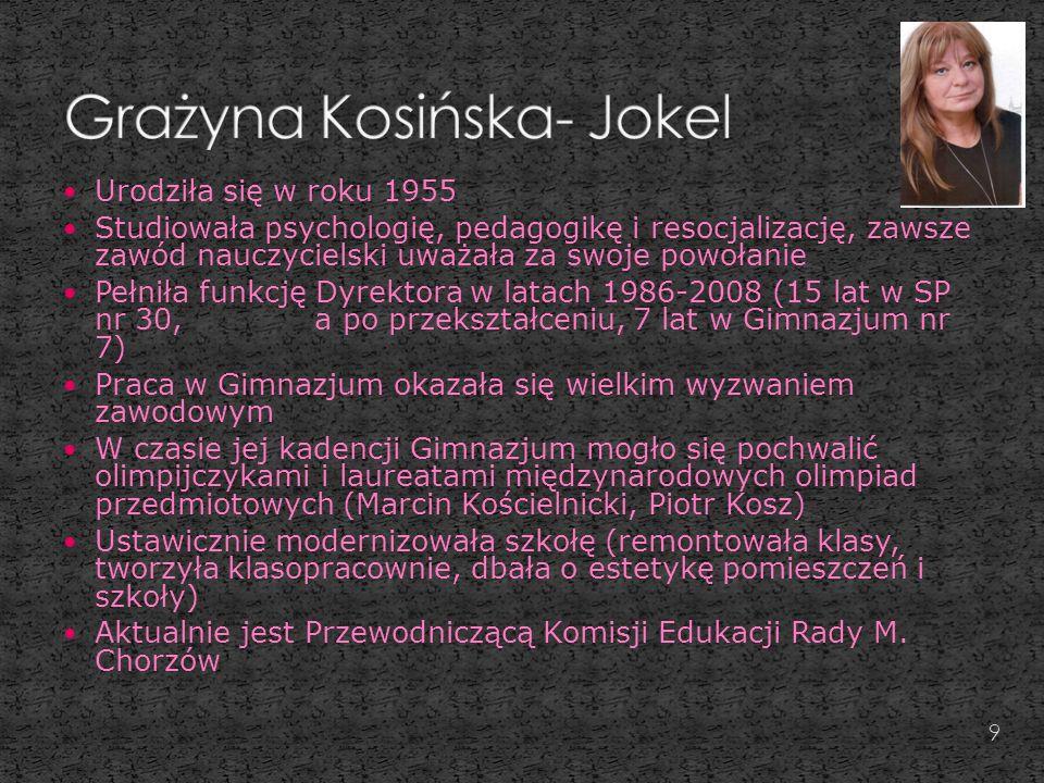 Grażyna Kosińska- Jokel