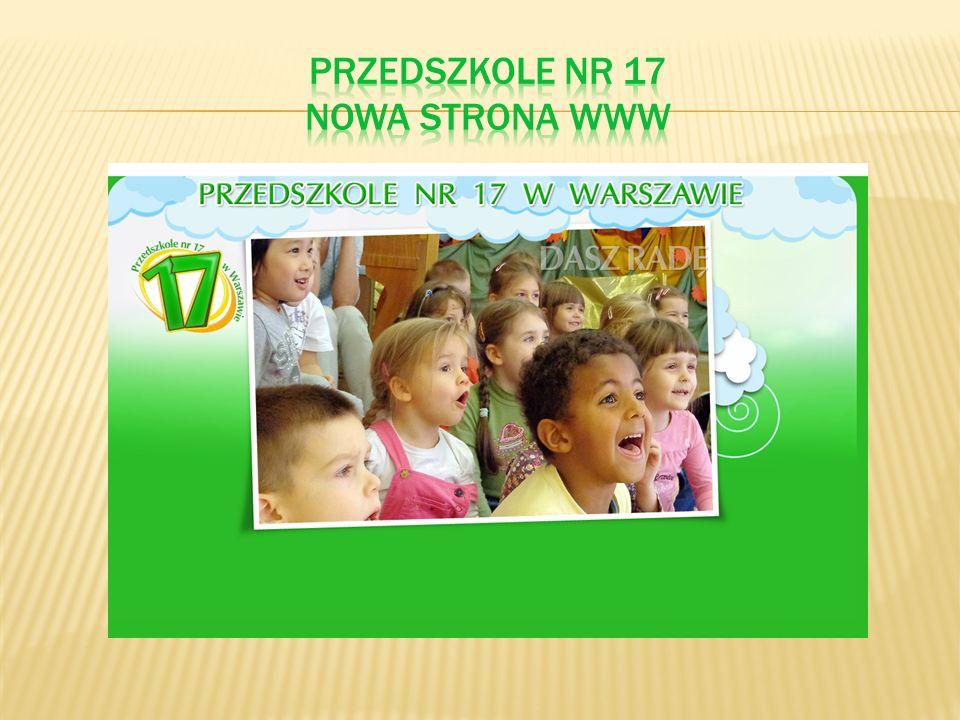 PRZEDSZKOLE NR 17 nowa strona www