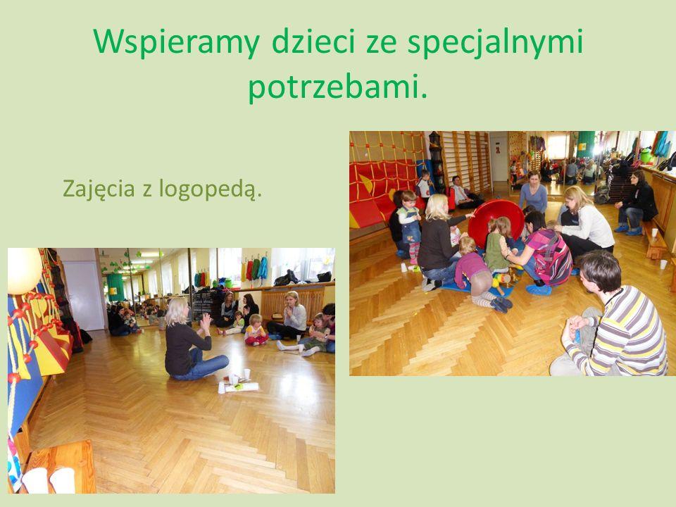 Wspieramy dzieci ze specjalnymi potrzebami.
