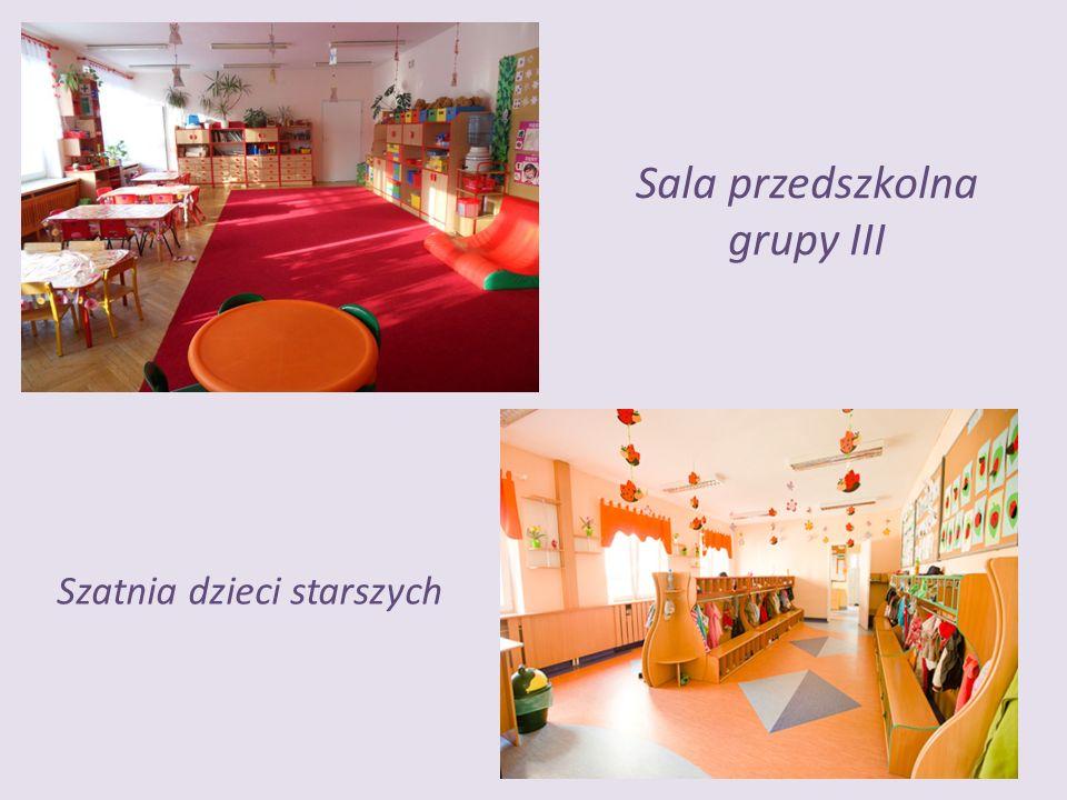 Sala przedszkolna grupy III