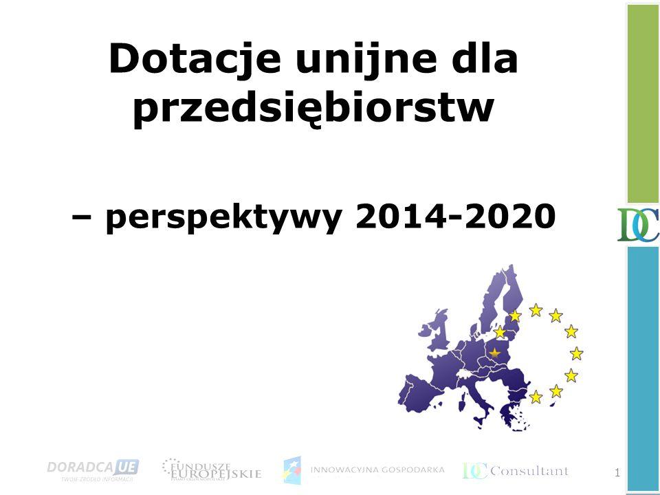 Dotacje unijne dla przedsiębiorstw – perspektywy 2014-2020