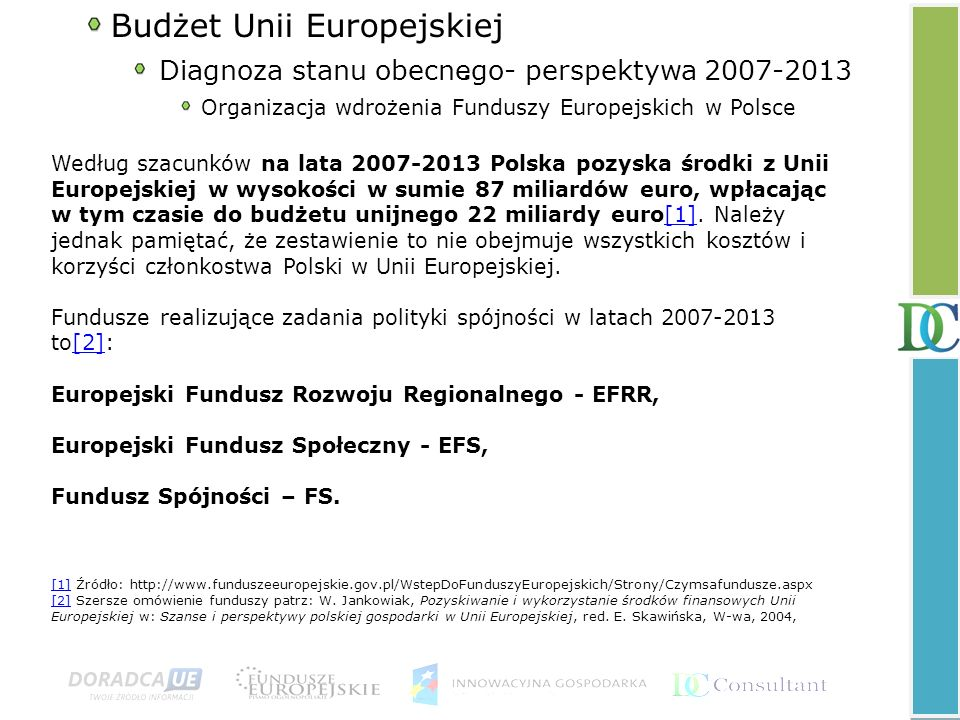 Budżet Unii Europejskiej .