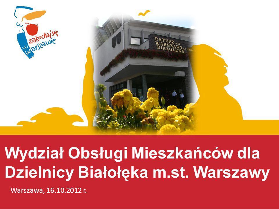 Wydział Obsługi Mieszkańców dla Dzielnicy Białołęka m.st. Warszawy
