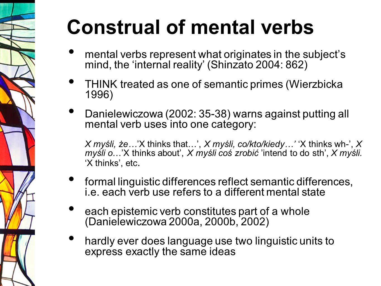 Construal of mental verbs