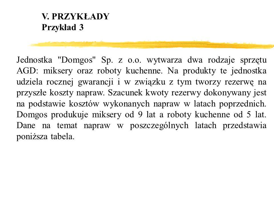 V. PRZYKŁADYPrzykład 3.