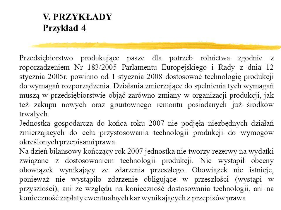 V. PRZYKŁADYPrzykład 4.