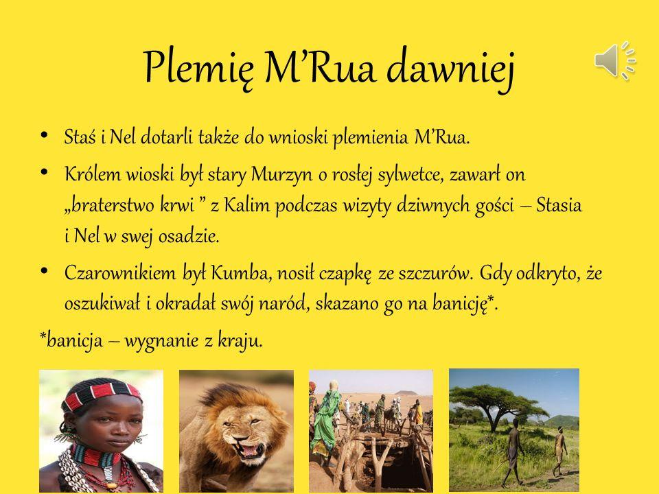 Plemię M'Rua dawniej Staś i Nel dotarli także do wnioski plemienia M'Rua.