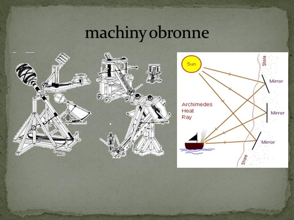 machiny obronne