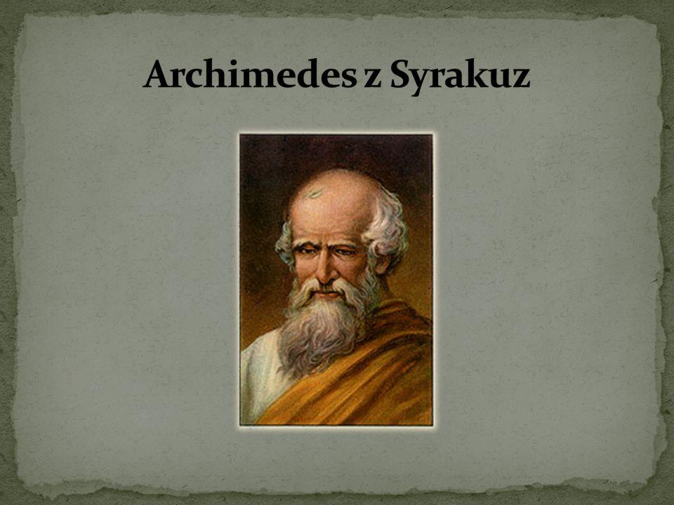 Archimedes z Syrakuz
