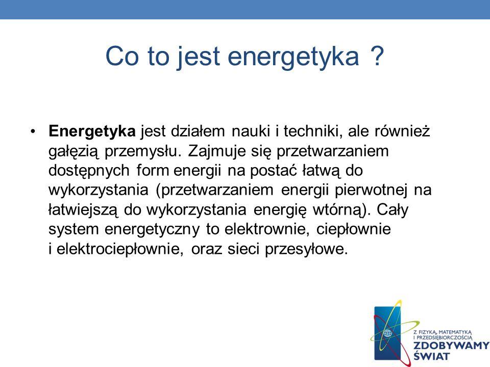 Co to jest energetyka