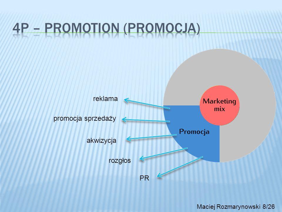 4P – Promotion (promocja)