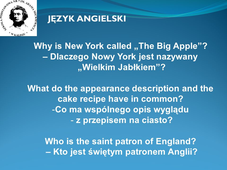 "Why is New York called ""The Big Apple"