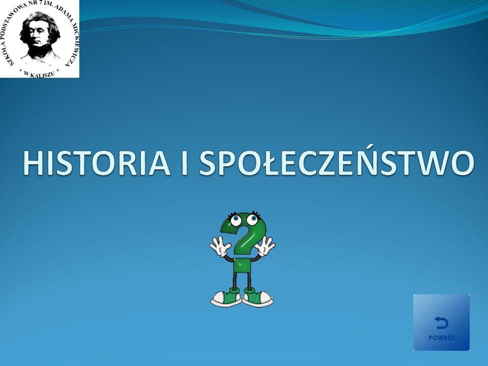 HISTORIA I SPOŁECZEŃSTWO