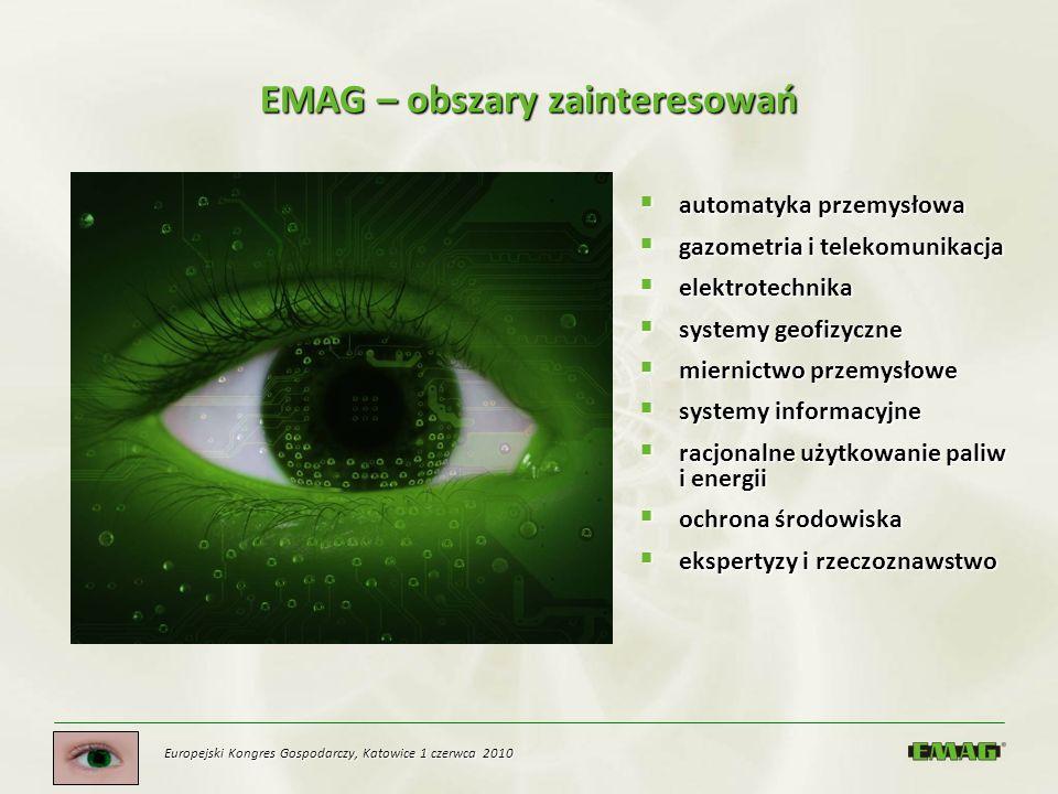 EMAG – obszary zainteresowań