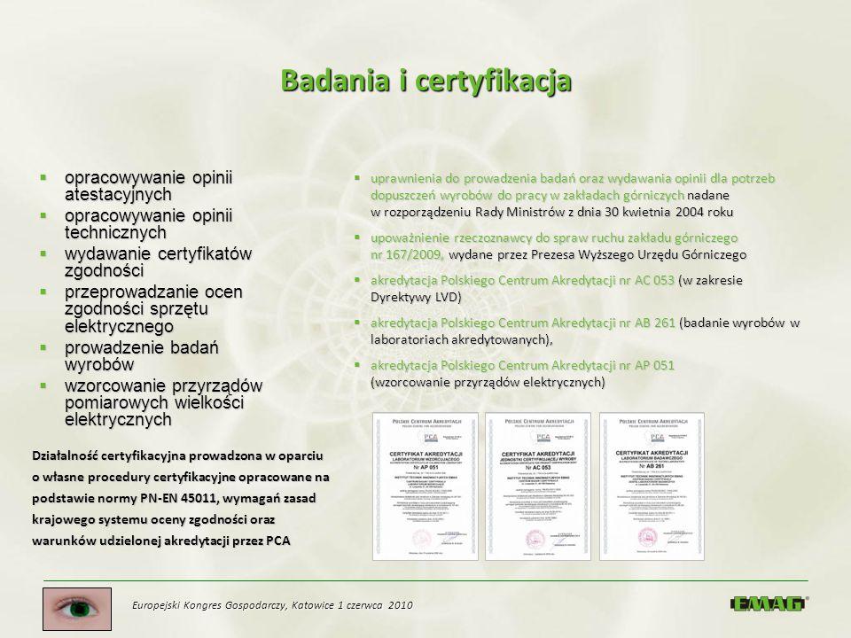 Badania i certyfikacja