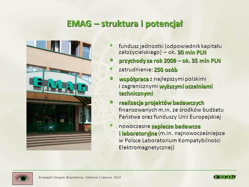 EMAG – struktura i potencjał